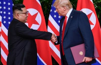 Trump hails progress after receiving letter from N. Korea's Kim