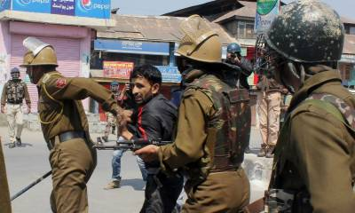 Indian troops committing state terrorism by killing innocent people in IOK