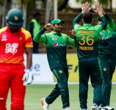 Pakistan beat Zimbabwe by 201 runs in first ODI