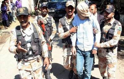 Rangers arrest most wanted criminal Laani from Karachi