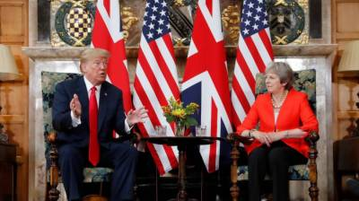 Trump says ties between UK, US have 'never been stronger'