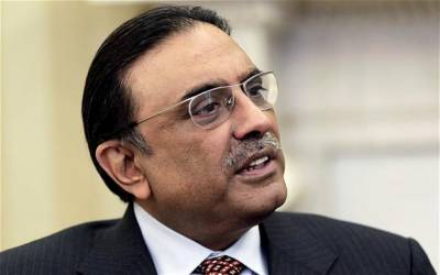 Asif Zardari speaks in favour of PML N workers
