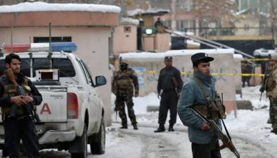 Deadly suicide blast infront of Afghanistan Ministry building in Kabul