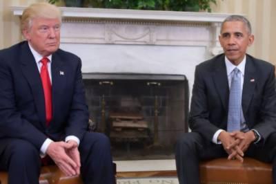 Donald Trump hits out at Barack Obama