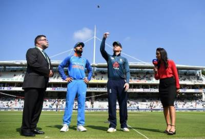 England bat against India in second ODI