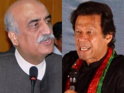 Khursheed Shah lashes out at Imran Khan