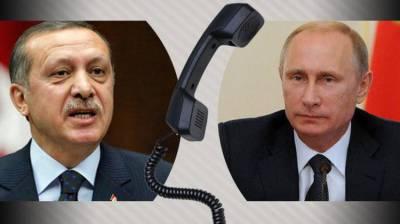 Putin, Erdogan discuss Syrian crisis