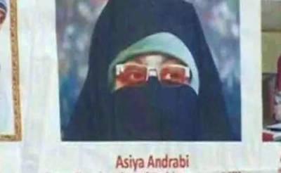 Aasiya Andrabi sent on judicial custody for waging war against India with help of Pakistan