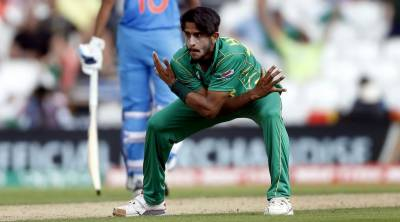 Hasan Ali faces injury during wicket taking celebrations