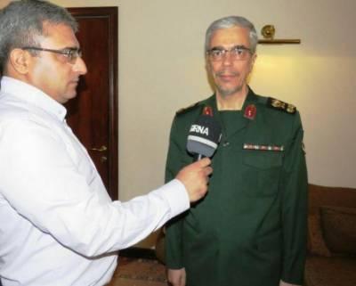 Iranian Army Chief seeks to enhance military ties with Pakistan