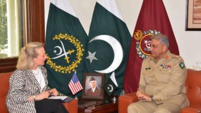 Top US diplomats visited Pakistan in a shift in Afghanistan war strategy
