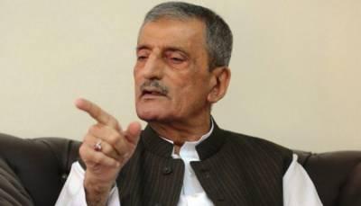 ANP Leader Ghulam Ahmed Bilour retracts statement over Haroon Bilour martyrdom
