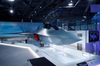 Britain unveils new fighter jet model named