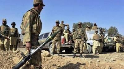 Four terrorist killed in Awaran