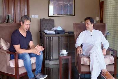 Imran Khan expresses views about Pakistan Army, relations with Saudi Arabia and US in an interview to Arab media