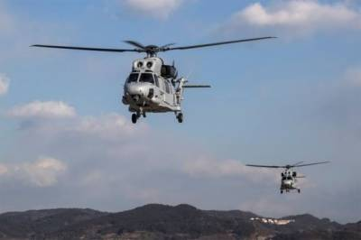 Military helicopter crashes killing five marines