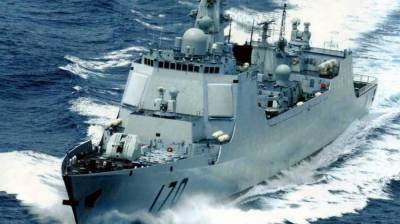 Pakistan Navy warship arrives in UK for high level engagements