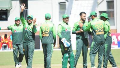 Pakistan thrashes Zimbabwe by nine wickets to clinch series by 3-0