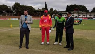 Zimbabwe opt to bat as Pakistan eye series-clinching win