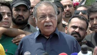Maryam met Nawaz today for first time since arrest, laments Pervaiz Rasheed