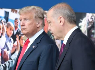 President Donald Trump hits out at Turkey