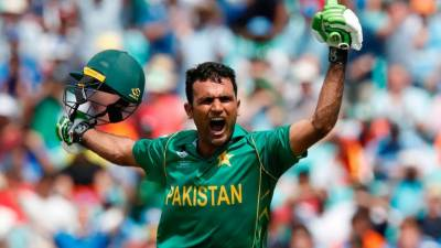 Fakhar Zaman breaks silence after making historic World Record