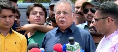 Ongoing electoral process is a selection, not an election : Pervaiz Rasheed