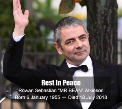 Rowan Atkinson: Is Mr Bean dead?