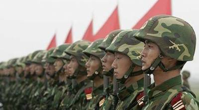 Chinese military special forces conduct war games near Indian borders