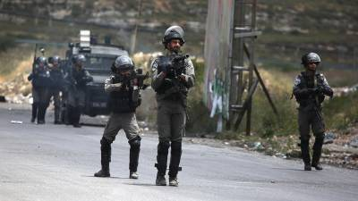 Four Palestinians martyred by Israeli forces