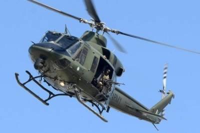 Helicopter crash land at Peshawar Airport