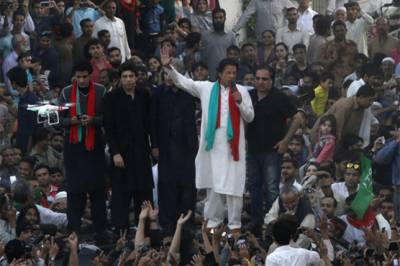 Imran Khan to address PTI rallies at four cities in two provinces today