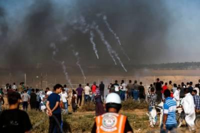 One Israeli soldier killed, military retaliates with airstrikes across Gaza
