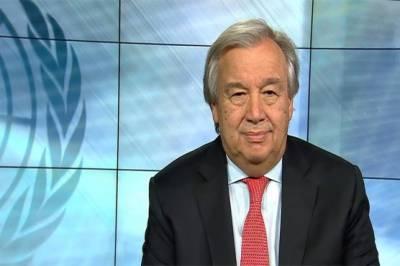 U.N Secretary General writes letter to Pakistan PM