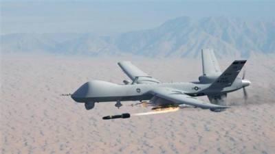 US drone strike in Nangarhar province bordering Pakistan
