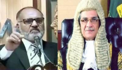 IHC Justice Shaukat Aziz Siddiqui writes a new letter to CJP Saqib Nisar