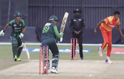 Pakistan once again put a massive total against Zimbabwe in the 5th and last ODI