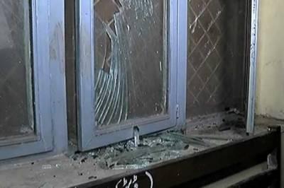 PML N workers attack Anti Narcotics Court building in Rawalpindi