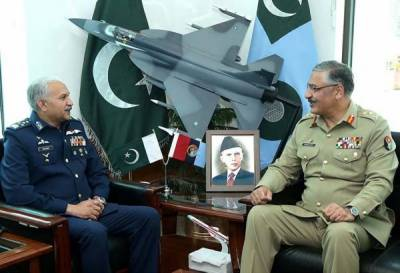 CJCSC General Zubair Mahmood visits Air Headquarters