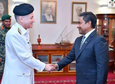 Pakistan to gift a landing Craft to Maldives Navy