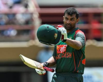 Tamim Iqbal makes historic record for Bangladesh
