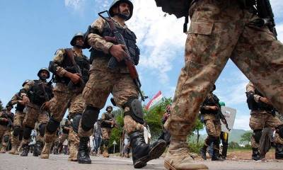 Pakistan Army five soldiers embrace martyrdom