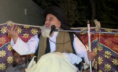 TLP Chief Khadim Rizvi cries foul play in general elections 2018