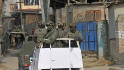 Explosion in Occupied Kashmir, three Indian soldiers hit