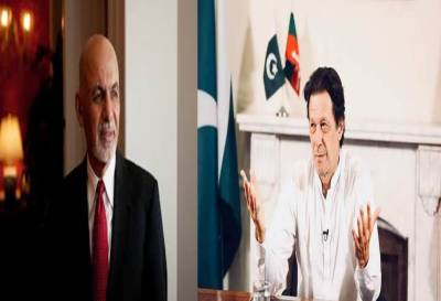 Ghani invites Imran to visit Kabul after assuming office of PM