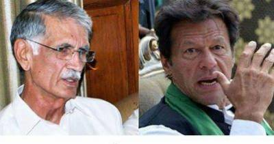 Pervaiz Khattak responds to the media reports of resigning from PTI