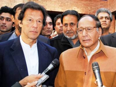 PMLQ top brass meets Imran Khan in Bani Gala today: Sources