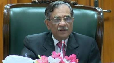 Building dam not judges' job, says CJP