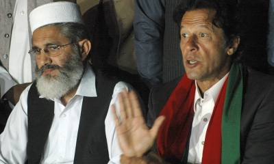 Imran Khan should be given a chance to work: JI Chief Siraj ul Huq