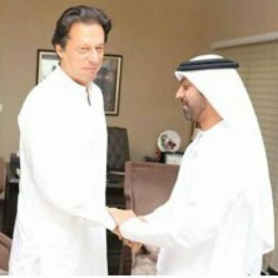 Middle Eastern envoy meet PM elect Imran Khan
